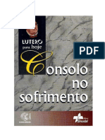 Martinho Lutero - Consolo No Sofrimento