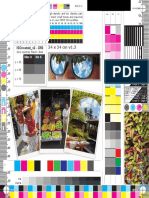 CMYK Label Test Print Form 240 x 240 Mm