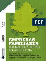 EMPRESAS FAMILIARES. Buenas Practicas en Argentina