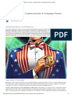 Bitcoin for America_ Cryptocurrencies in Campaign Finance _ Zero Hedge