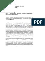 Circular 006 de 2007 Debido Proceso Defensa Del Usuario Del Servicio Publico de Acueducto y Alcantarilla