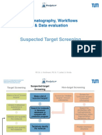 Chromatographic Workflows - Suspects