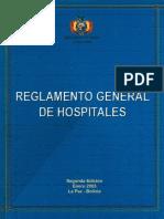 Reglamento General de Hospitales