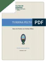 Banco de Ensayos Turbina Pelton