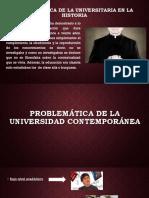 Problemática de La Universidad Co0ntemporanea
