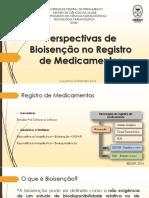 Perspectivas de Bioisenção