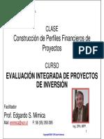Evaluacion Integrada de Proyectos