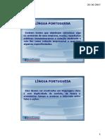 Língua Portuguesa - Slideshow Da Teleaula 02.Ppt [Modo de Compatibilidade]