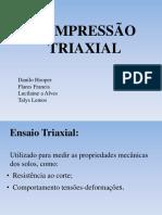 Compressão Triaxial Revisado