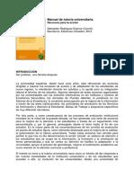 Febrero 2016 Manual de Tutoría Universitaria Sebastián Rodríguez