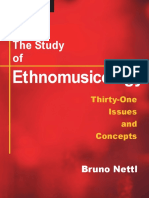 Bruno Nettl - The Study of Ethnomusicology. Thirty-one Issues and Concepts.pdf