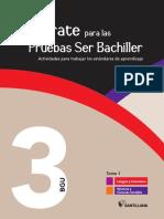 Mexico. Preparate Para Las Pruebas Ser Bachiller. 3 BGU. Tomo I