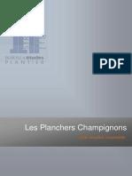 Présentation Planchers Champignons