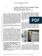 Smart Monitoring and Control of Tap Changer Using Intelligent Electronic Device