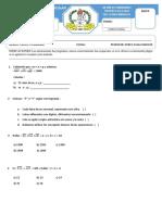 Formato de Examen Razmate 5p 2018