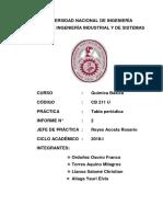 Final Informe de Quimica 2