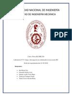 Informe 5- Fisica III- Carga y Descarga de Un Condensador en Un Cirduito RC- Sec D