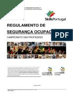 SkillsPortugal - Regulamento de Segurança Ocupacional 2012