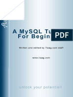 0180 a Mysql Tutorial for Beginners