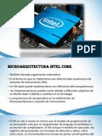 Microarquitectura INTEL