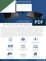 Fiche Grandstream GWN7000