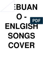 Cebuano English Songs Cover