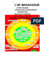 levels of behaviour information handbook