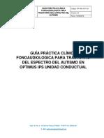 Gpc Fonoaudiologica Para Tea