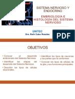 9a Sesión EyFH Embriologia e Histologia del SN