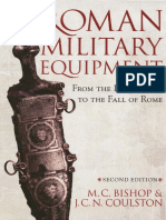 Bishop Coulston Roman Military Equipment From the Punic Wars to the Fall of Rome