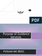 Purpose of Guidance Services