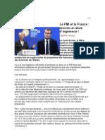 Le FMI et la France