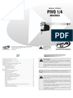 Manual Técnico Pivo 1_4 Analógica - Rev0