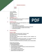 Modelo de Anamnesis Psicológica
