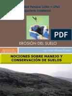 EROSION DEL SUELO y Manejo de Cuencas-Ing. Ivone Vásquez