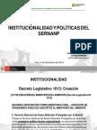 Institucionalidad y Politicas - Pedro Gamboa