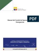 Manual Del Comité de Operaciones de Emergencia