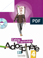 Adosphere 4 Cahier activites