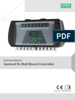 GasGard XL Operating Manual - GB