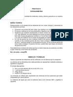 2., INFORME QUIMICA  ESTEQUIOMETRIA