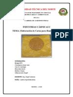 Informe Carne Para Hamburguesa - Grupo 3 (1)
