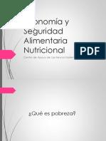 Economa y seguridad alimentaria