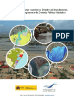 Los Usos en Las Zonas Inundables. Directiva de Inundaciones Ley de Aguas y Reglamento Del DPH
