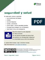 Tema 6. Seguridad y Salud