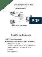 Gestion se sesiones Programacion web