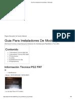 Guia Para Instaladores de Modchips - ElOtroLado - PS2