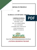 Kairali Corporate Profile