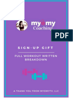 Your Workout Gift