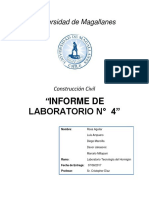 Informe de Laboratorio Numero 4