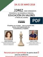 ajedrez como herramienta pedagogica y desarrollo personal - educacion en valores a través del ajedrez